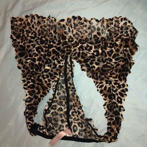 Victoria Secret PINK cheetah print bralette